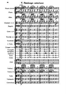 Capriccio Espagnol, Op.34: Movimento V by Nikolai Rimsky-Korsakov
