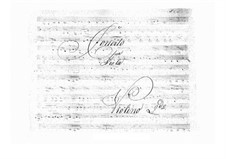 Concerto for Viola and Orchestra in B Flat Major (Unfinished), BI 555: violino parte II by Alessandro Rolla
