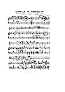 Romanze: Versão para voz e piano by Franz Schubert