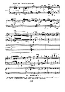 Concerto for Piano and Orchestra No.2, Op.19: Adagio, for two pianos four hands by Ludwig van Beethoven