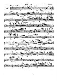 Piano Trio in E Flat Major, Op.75: trio de piano em E flat maior by Johann Peter Pixis