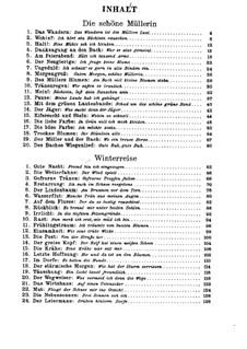 Complete Cycle: para voz baixa e piano by Franz Schubert