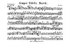Semper Fidelis : partes by John Philip Sousa