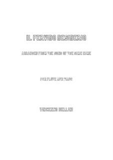 Il fervido desiderio: para flauta e piano by Vincenzo Bellini