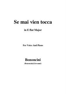 Calpurnia: Se mai vien tocca (E flat Major) by Giovanni Battista Bononcini