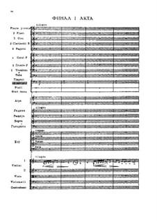 Undina, TH 2: Act I, Finale by Pyotr Tchaikovsky
