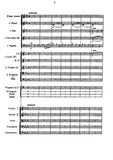 Ode to Joy, TH 66: movimento I by Pyotr Tchaikovsky