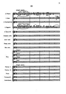 Ode to Joy, TH 66: movimento III by Pyotr Tchaikovsky