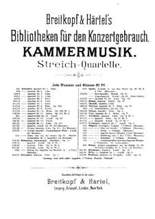 Three String Quartets, Op.41: Quartet No.3 – violin II part by Robert Schumann
