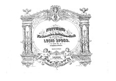 Nocturne in C Major, Op.34: para piano de quadro mãos by Louis Spohr