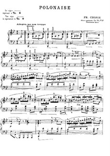Polonaises, Op. posth.71: No.2 in B Flat Major by Frédéric Chopin