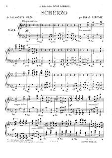 Piano Sonata No.1, Op.28: Piano Sonata No.1 by Isaac Albéniz
