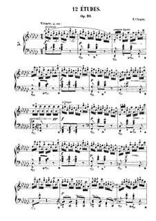 No.5 in G Flat Major: Para Piano by Frédéric Chopin