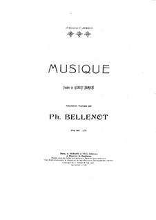 Musique: Musique by Philippe Bellenot