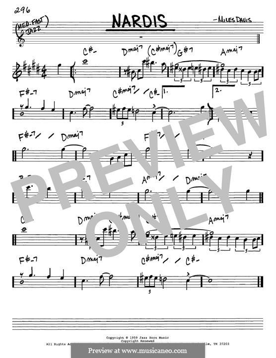 Nardis: Para Guitarra by Miles Davis