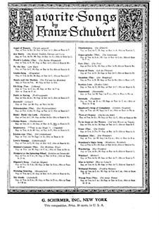 Heidenröslein (Little Hedge Rose), D.257 Op.3 No.3: D maior by Franz Schubert