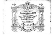String Quartets, D.804 Op.29, Op.125 No.1-2: para piano de quadro mãos by Franz Schubert