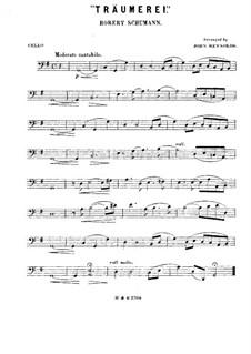 No.7 Träumerei (Dreaming): para quarteto de cordas - violoncelo parte by Robert Schumann