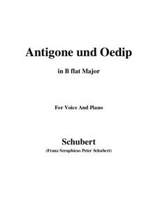 Antigone and Oedipus, D.542 Op.6 No.2: B flat Maior by Franz Schubert