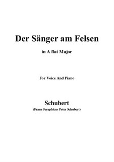 Der Sänger am Felsen (The Singer on the Rock), D.482: F minor by Franz Schubert