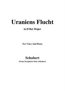 Uraniens Flucht (Urania's Flight), D.554: D flat Major by Franz Schubert