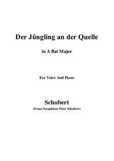 The Youth by the Spring, D.300: A flat Major by Franz Schubert