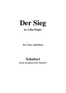 Der Sieg (The Victory), D.805: A flat Major by Franz Schubert