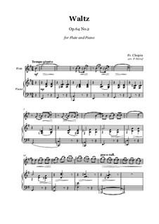 No.2 in C Sharp Minor: para flauta e piano by Frédéric Chopin