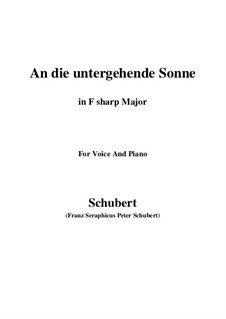 Im Haine (In the Wood), D.738 Op.56 No.3: For voice and piano (C Major) by Franz Schubert