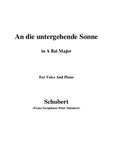 Im Haine (In the Wood), D.738 Op.56 No.3: Para voz e piano (F maior) by Franz Schubert