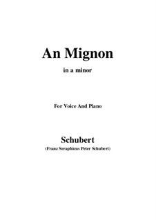Geheimes (A Secret), D.719 Op.14 No.2: para voz e piano em B flat Maior) by Franz Schubert