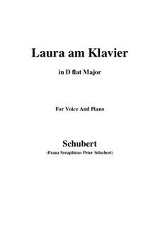 Laura at the Piano, D.388: First version (D flat Major) by Franz Schubert