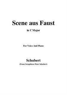 Scene from 'Faust', D.126: C maior by Franz Schubert