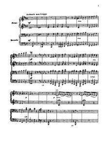Festival Overture on the Danish National Anthem, TH 41 Op.15: para piano de quadro mãos by Pyotr Tchaikovsky