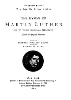 Hymns: Hymns by Martin Luther