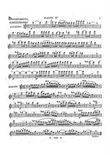 Divertissement for Violin and Orchestra (or Piano), BI 477: Partes by Alessandro Rolla