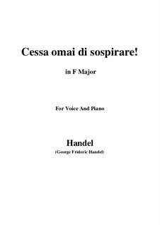 Amadigi di Gaula, HWV 11: Pena tiranna by Georg Friedrich Händel