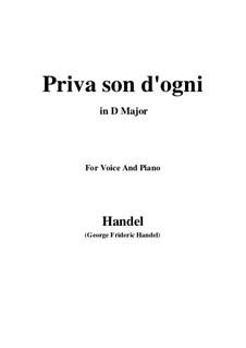 Saria lievo, Il core spera: Saria lievo, Il core spera by Georg Friedrich Händel