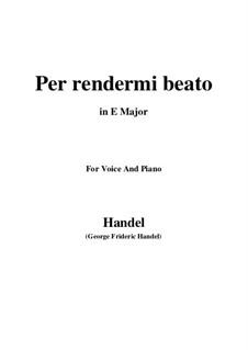 Più che Penso: Più che Penso by Georg Friedrich Händel