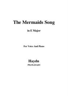 The Mermaids Song: E Major by Joseph Haydn