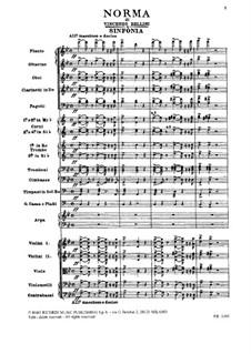 Complete Opera: partitura completa by Vincenzo Bellini