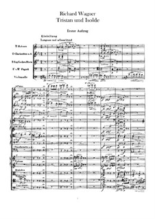 Complete Opera: partitura completa by Richard Wagner
