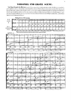 The Rhine Gold, WWV 86a: partitura completa by Richard Wagner