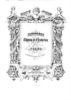 Iphigenia in Tauris, Wq.46: partitura para piano by Christoph Willibald Gluck