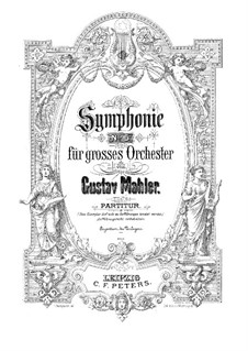 Symphony No.5 in C Sharp Minor: partitura completa by Gustav Mahler