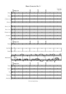 Piano Concerto No.3: Piano Concerto No.3 by Jordan Grigg