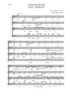 Seigneur prends pitié, Op.87-03: Seigneur prends pitié by Nino Janjgava