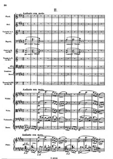 Symphony No.8 in B Minor 'Unfinished', D.759: movimento II by Franz Schubert