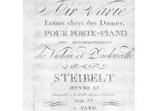 Air varié 'Enfant cheri des Dames', Op.32: parte do violino by Daniel Steibelt