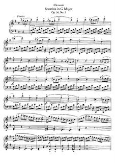 Sonatina No.5: Para Piano by Muzio Clementi